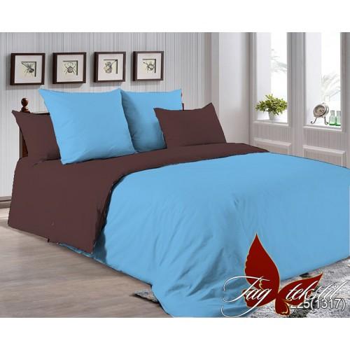 Поплиновое постельное белье полуторное TAG P-4225(1317)
