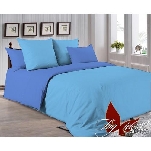Поплиновое постельное белье полуторное TAG P-4225(4037)