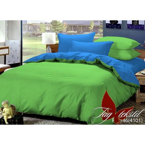 Комплект постельного белья поплин полуторное TAG P-0146(4101)