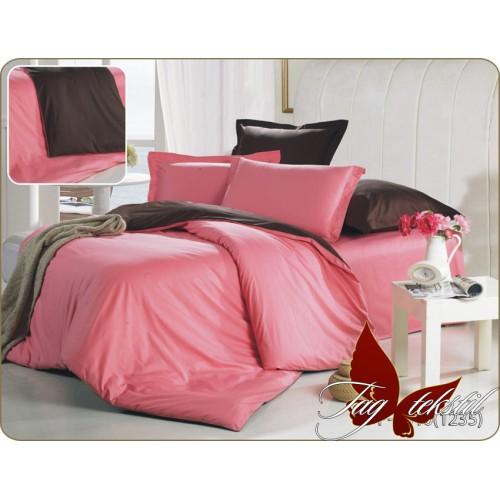 Комплект постельного белья поплин полуторное TAG P-6010 (1235)