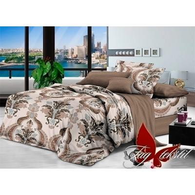 Комплект постельного белья поплин евро TAG 1708