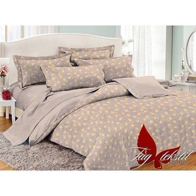 Комплект постельного белья поплин евро TAG PC050