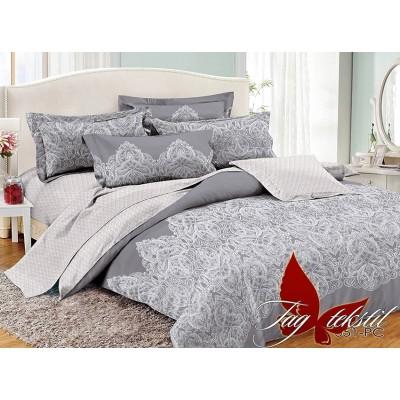 Комплект постельного белья поплин евро TAG PC051