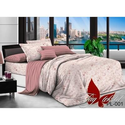 Комплект постельного белья поплин семейный TAG PL-001