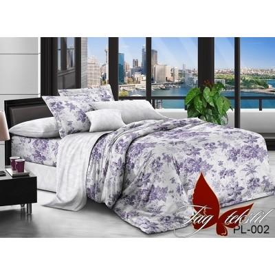 Комплект постельного белья поплин евро TAG PL-002