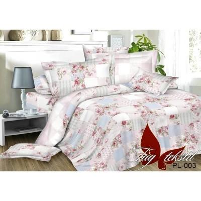 Комплект постельного белья поплин евро TAG PL-003