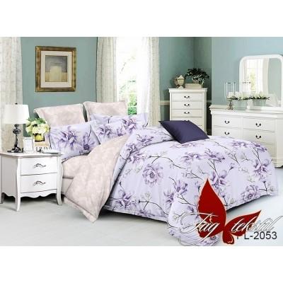 Комплект постельного белья поплин евро TAG PL-2053