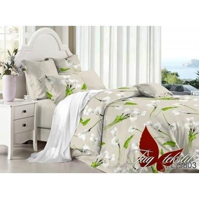 Комплект постельного белья поплин семейный TAG PL-5803