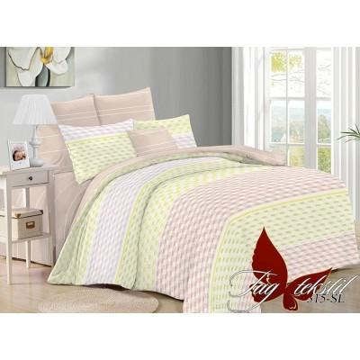 Комплект постельного белья поплин двойной TAG SL315