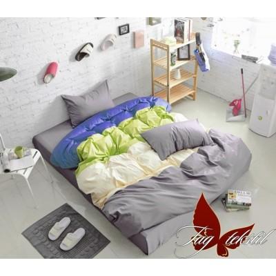 Комплект постельного белья поплин полуторное TAG Colormix APT001