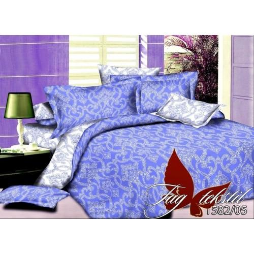 Комплект постельного белья поплин полуторное TAG PO 1582-05