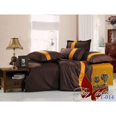 Комплект постельного белья поплин евро TAG Colormix APT014