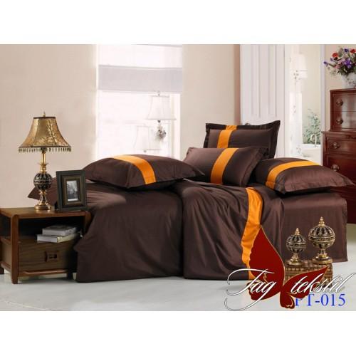 Комплект постельного белья поплин семейное TAG Colormix APT015