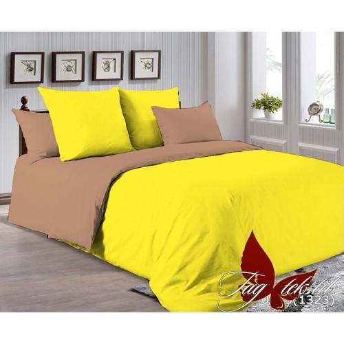 Поплиновое постельное белье полуторное TAG P-0643(1323)