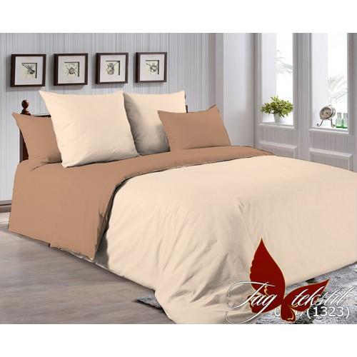 Поплиновое постельное белье полуторное TAG P-0807(1323)