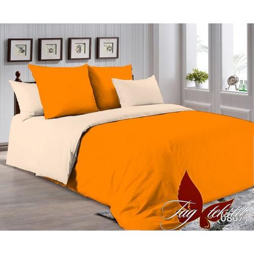 Поплиновое постельное белье полуторное TAG P-1263(0807)