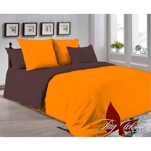 Поплиновое постельное белье полуторное TAG P-1263(1317)
