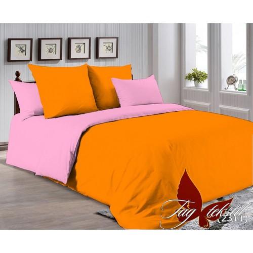 Поплиновое постельное белье полуторное TAG P-1263(2311)
