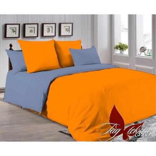 Поплиновое постельное белье полуторное TAG P-1263(3917)