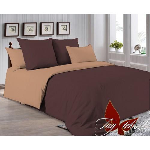Поплиновое постельное белье полуторное TAG P-1317(1323)