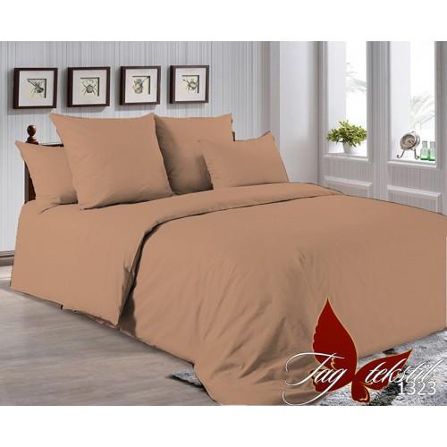 Поплиновое постельное белье полуторное TAG P-1323