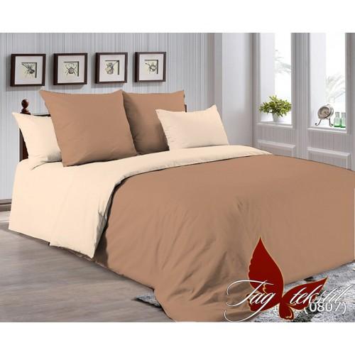 Поплиновое постельное белье полуторное TAG P-1323(0807)
