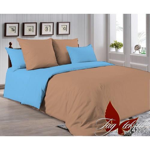 Поплиновое постельное белье полуторное TAG P-1323(4225)