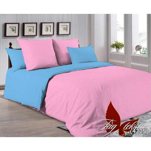 Поплиновое постельное белье полуторное TAG P-2311(4225)