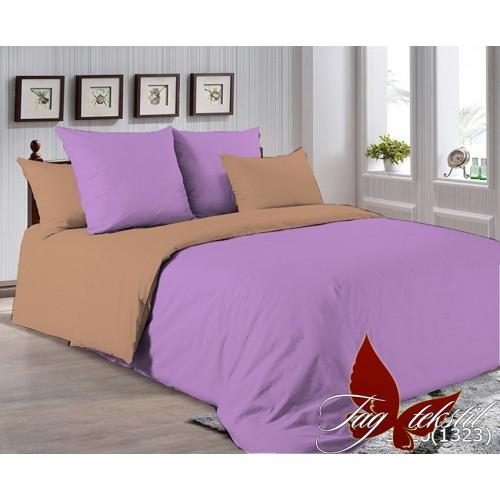 Поплиновое постельное белье полуторное TAG P-3520(1323)