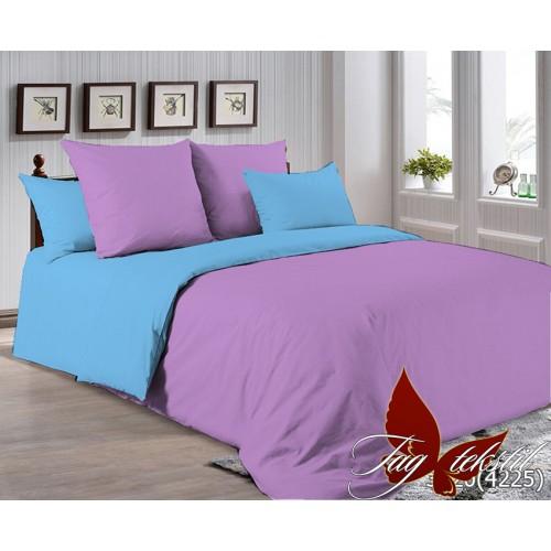 Поплиновое постельное белье полуторное TAG P-3520(4225)