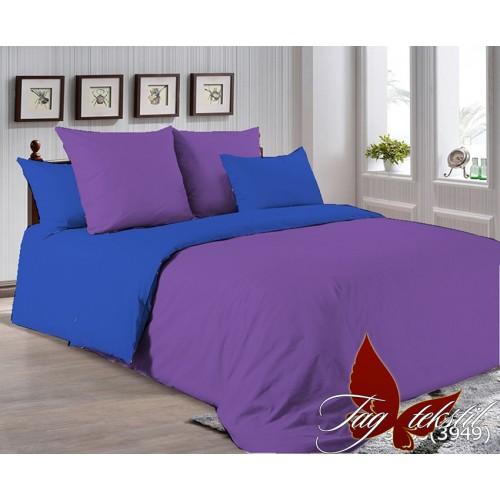 Поплиновое постельное белье полуторное TAG P-3633(3949)