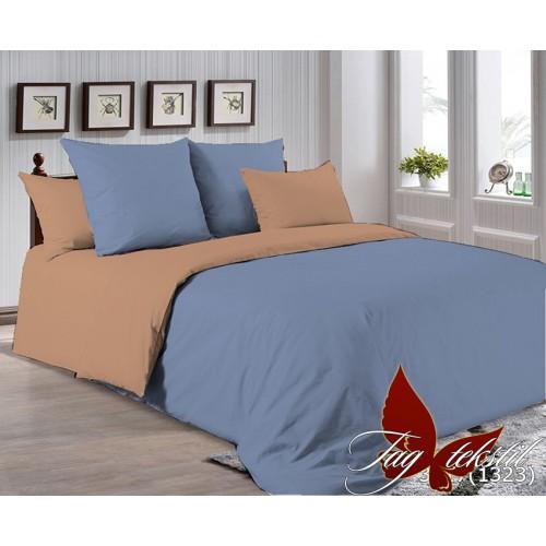 Поплиновое постельное белье полуторное TAG P-3917(1323)