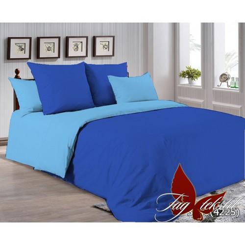 Поплиновое постельное белье полуторное TAG P-3949(4225)