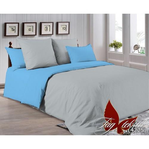 Поплиновое постельное белье полуторное TAG P-4101(4225)