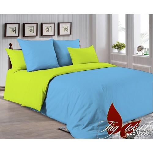 Поплиновое постельное белье полуторное TAG P-4225(0550)