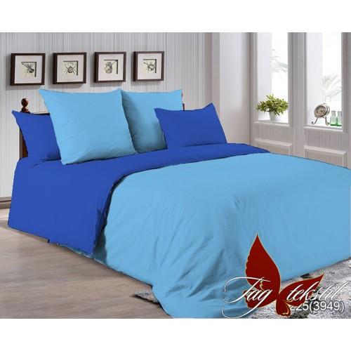 Поплиновое постельное белье полуторное TAG P-4225(3949)