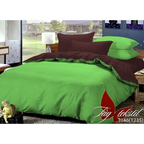 Комплект постельного белья поплин полуторное TAG P-0146(1235)
