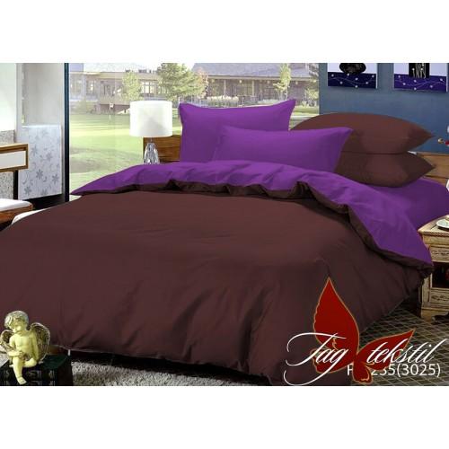 Комплект постельного белья поплин полуторное TAG P-1235(3025)