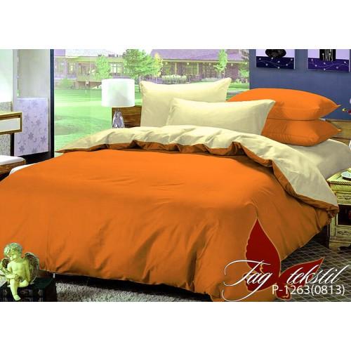 Комплект постельного белья поплин полуторное TAG P-1263(0813)