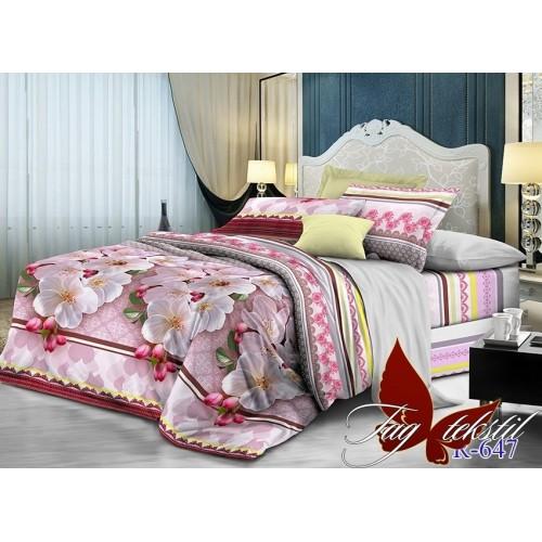 Комплект постельный полуторный ранфорс TAG R647