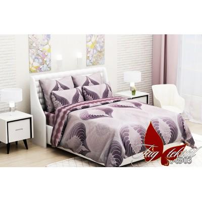 Комплект постельный полуторный ранфорс TAG R6903
