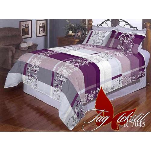 Комплект постельный полуторный ранфорс TAG R7045