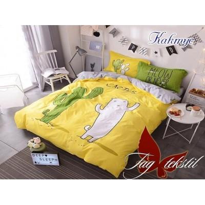 Комплект постельного белья ранфорс Кактус