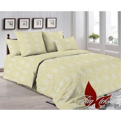 Полуторное постельное белье TAG R-7005 беж