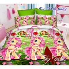Комплект постельного белья ранфорс TAG My little pony