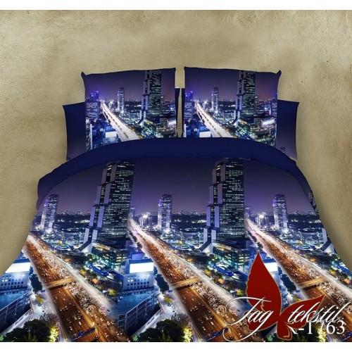 Комплект постельный полуторный ранфорс TAG R1763