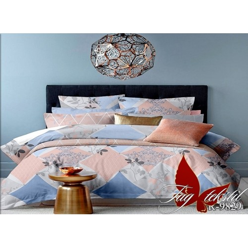 Комплект постельный полуторный ранфорс TAG R9829