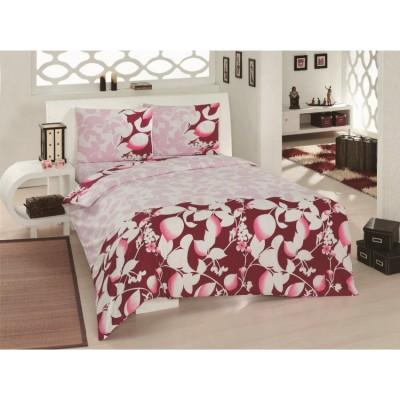 Комплект постельного белья Турция Classi полутораспальный 160Х215 Sofia красный