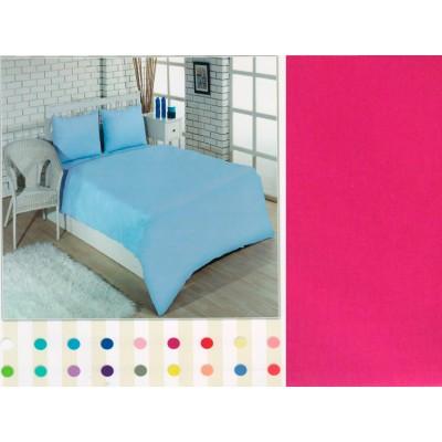 Комплект постельного белья Турция Classi полутораспальный 160Х220 Colorful Фуксия