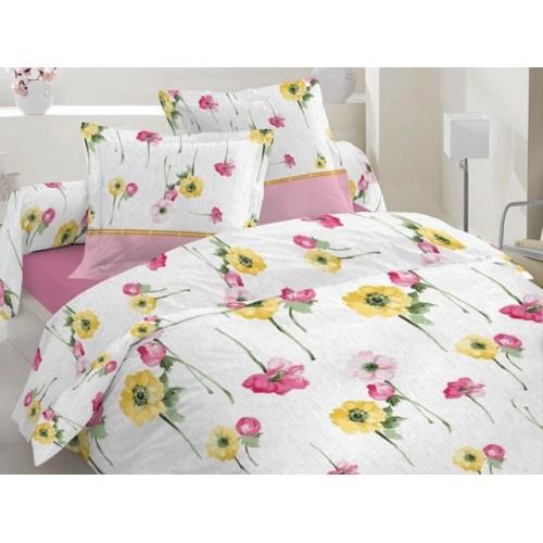 Комплект постельный полуторный 20-0325 розовый